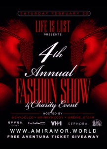 life is Lust Fashion Show