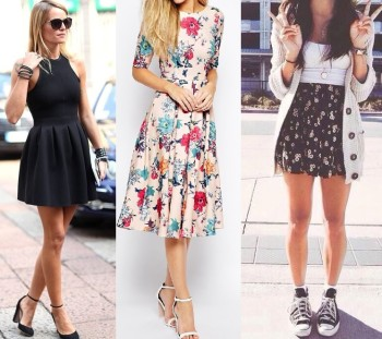 How to rock a skater dress on every body shape