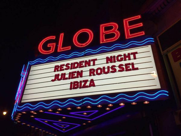 GLOBAL SENSATION- DJ JULIEN ROUSSEL