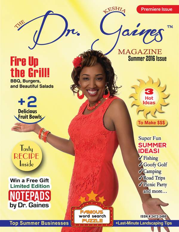 The Dr. Keshia Gaines Magazine