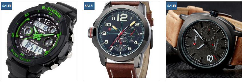 Want to buy a stylish mens watch in low price?
