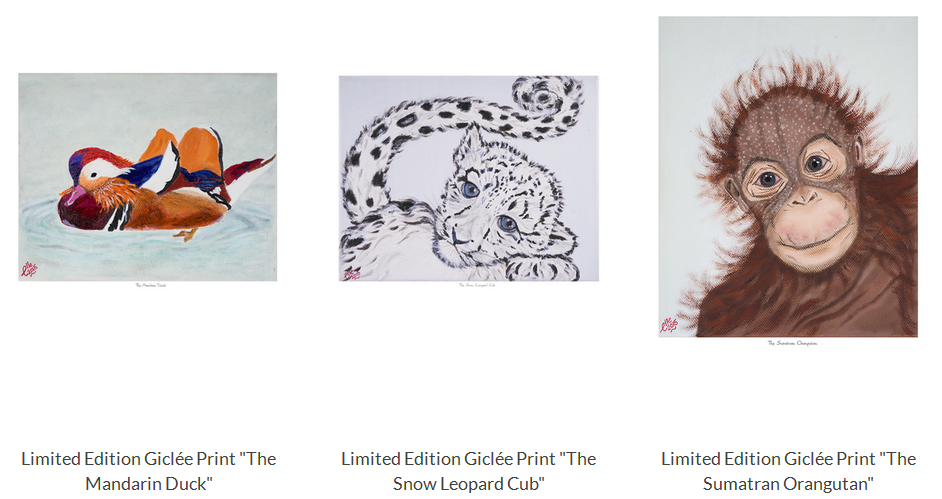giclee prints inspired by elle