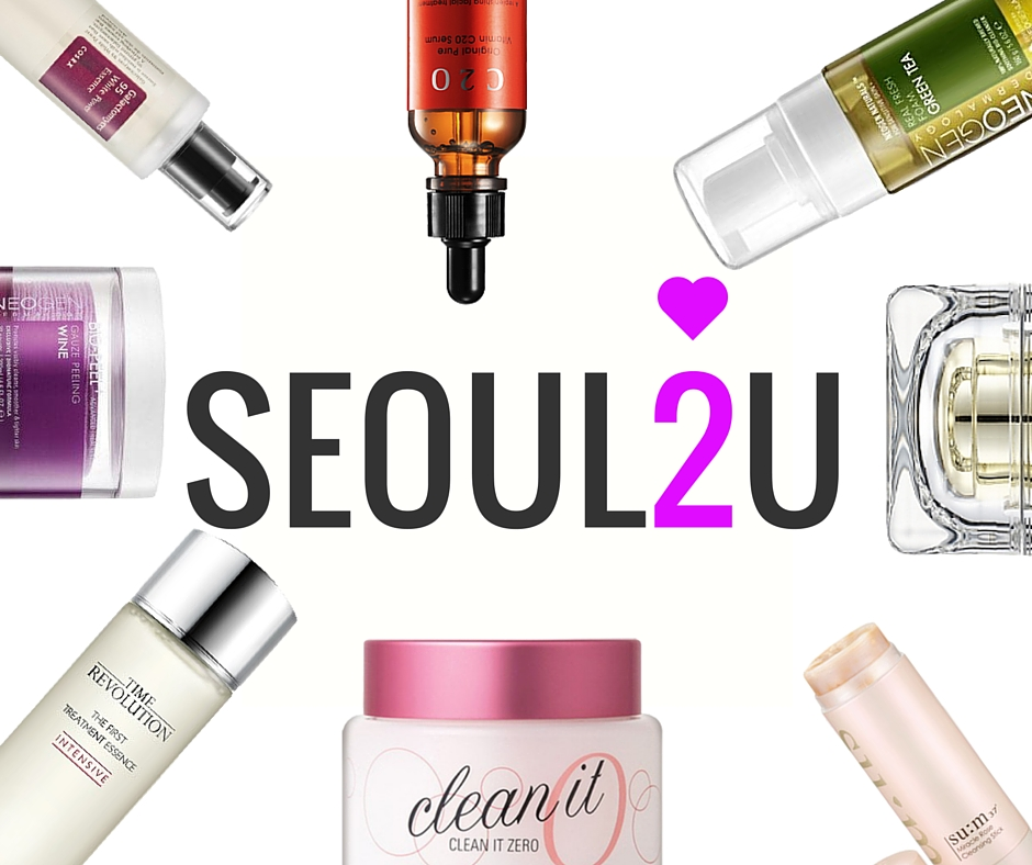 Vast Range of Skincare products by Seoul2U