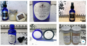 All natural body and bath products by Ms. Kitty's Apothecary