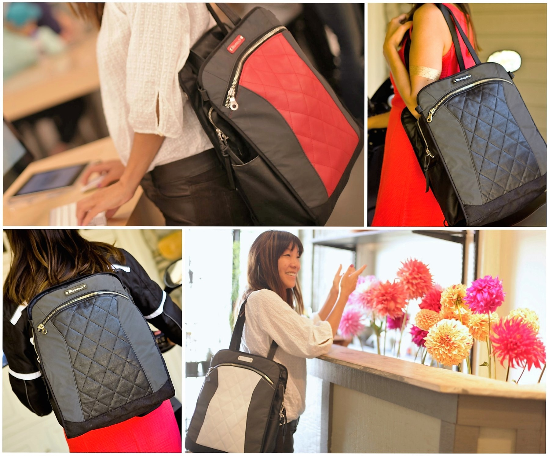 MotoChic® Gear Bags Are the Perfect Holiday Gift For The Woman on the Move!