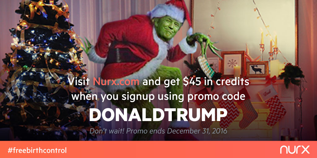 Nurx is offering FREE birth control !