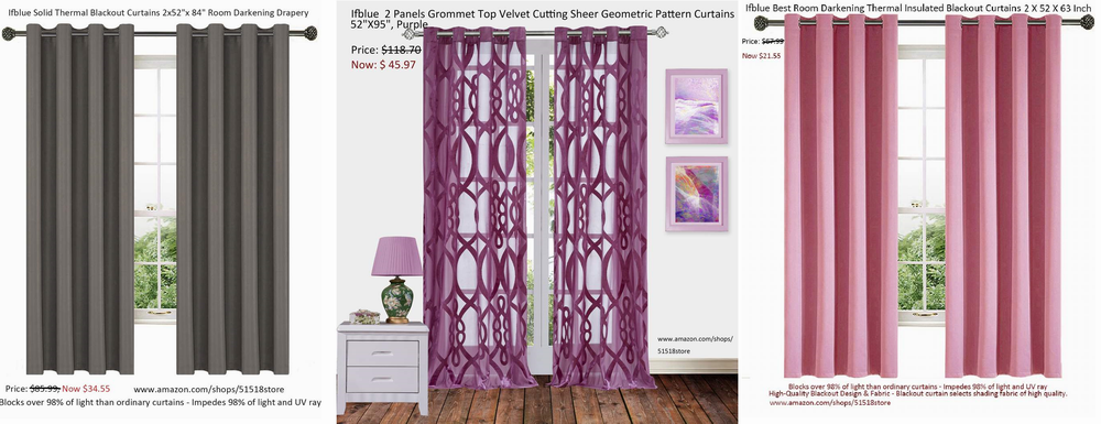 An Exclusive Look into the Ifblue Thermal Insulated Window Curtains