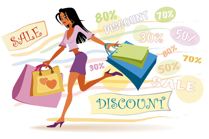 Discount on Shopping is a blessing !
