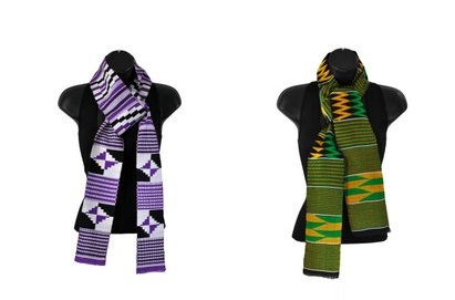 Have A Graceful Graduation Day With Handcrafted Kente Stoles
