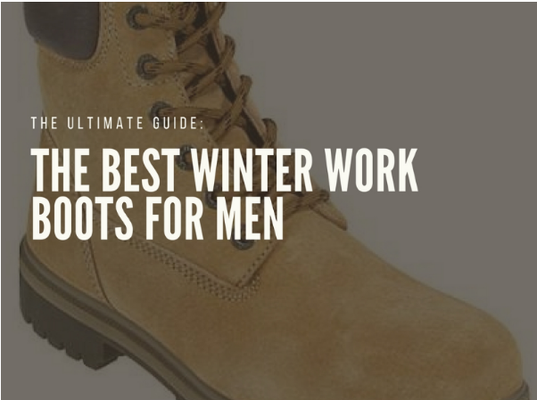 Lightweight Winter Work Boots for Men