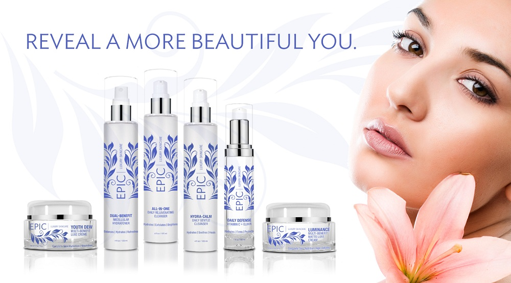 Epic Luxury Skincare : A new revolutionary, anti-aging , corrective and lifestyle brand