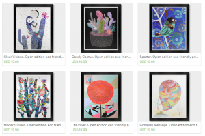An Amazing Collection of Original Paintings and Fine Art Prints