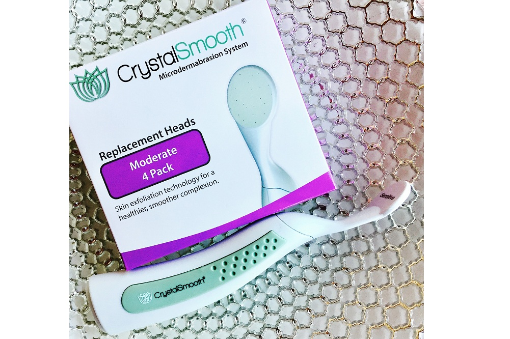 CrystalSmooth a perfect microdermabrasion system to get healthy, smoother skin