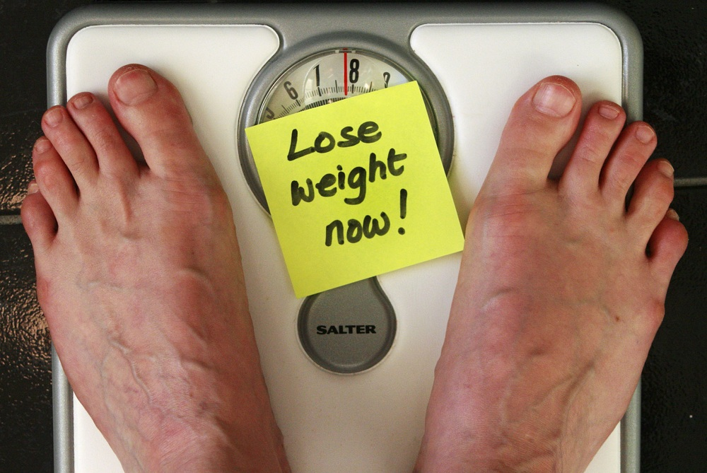 You can lose weight just by mind control !