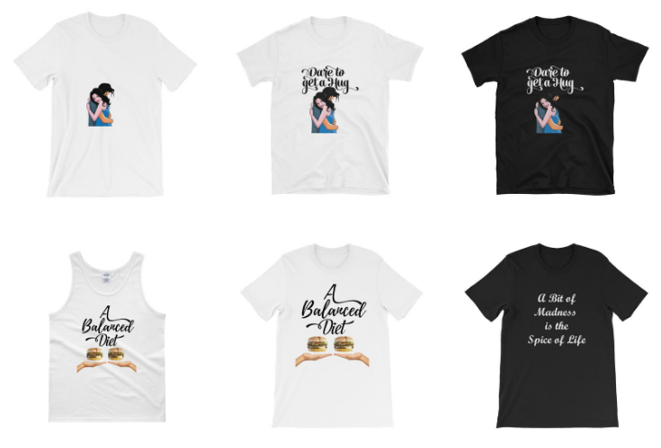 Stylish, high quality fun t-shirts by Studio Shilo