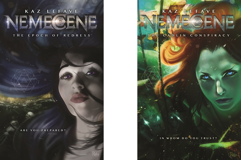 Conversation with Kaz Lefave about her recent science fiction 'Nemecene'