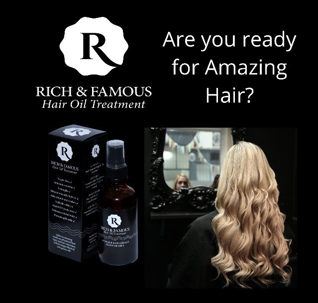 Rich & Famous Hair Oil Treatment- Solution To Your All Hair Problems
