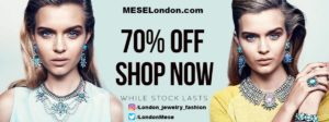 MESE London Offers 70% OFF on Jewelry Items