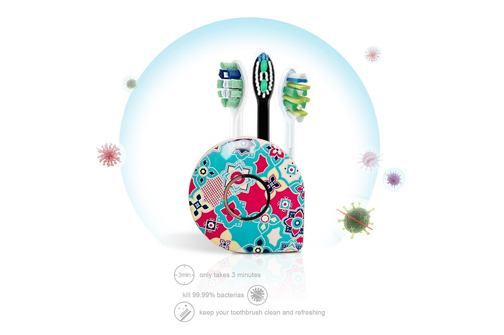 Eliminate germs and bacteria from your toothbrush with UV Toothbrush Sanitizer