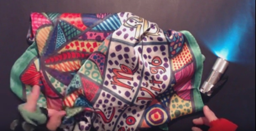 A Must Have Beautiful Satin Silk Scarf