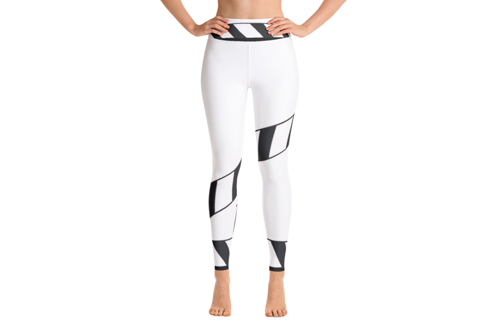 Super soft, stretchy and comfortable 'Outtakez Logo Yoga Leggings'