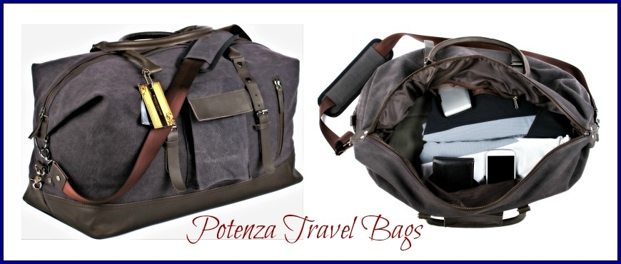Versatile, Durable and Stylish Potenza Travel Bags