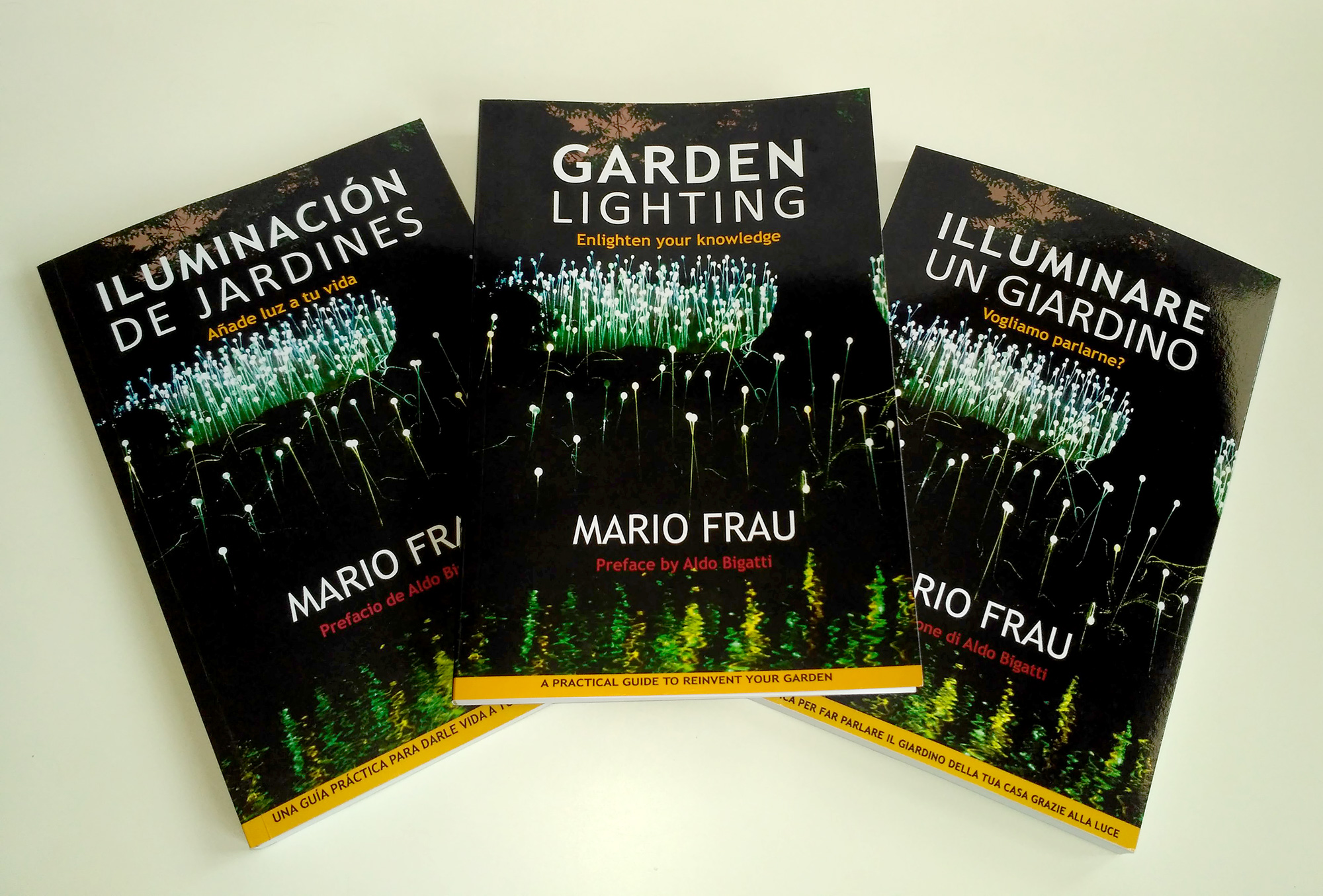 Learn how to enhance your garden's look with Garden Lighting by Mario Frau