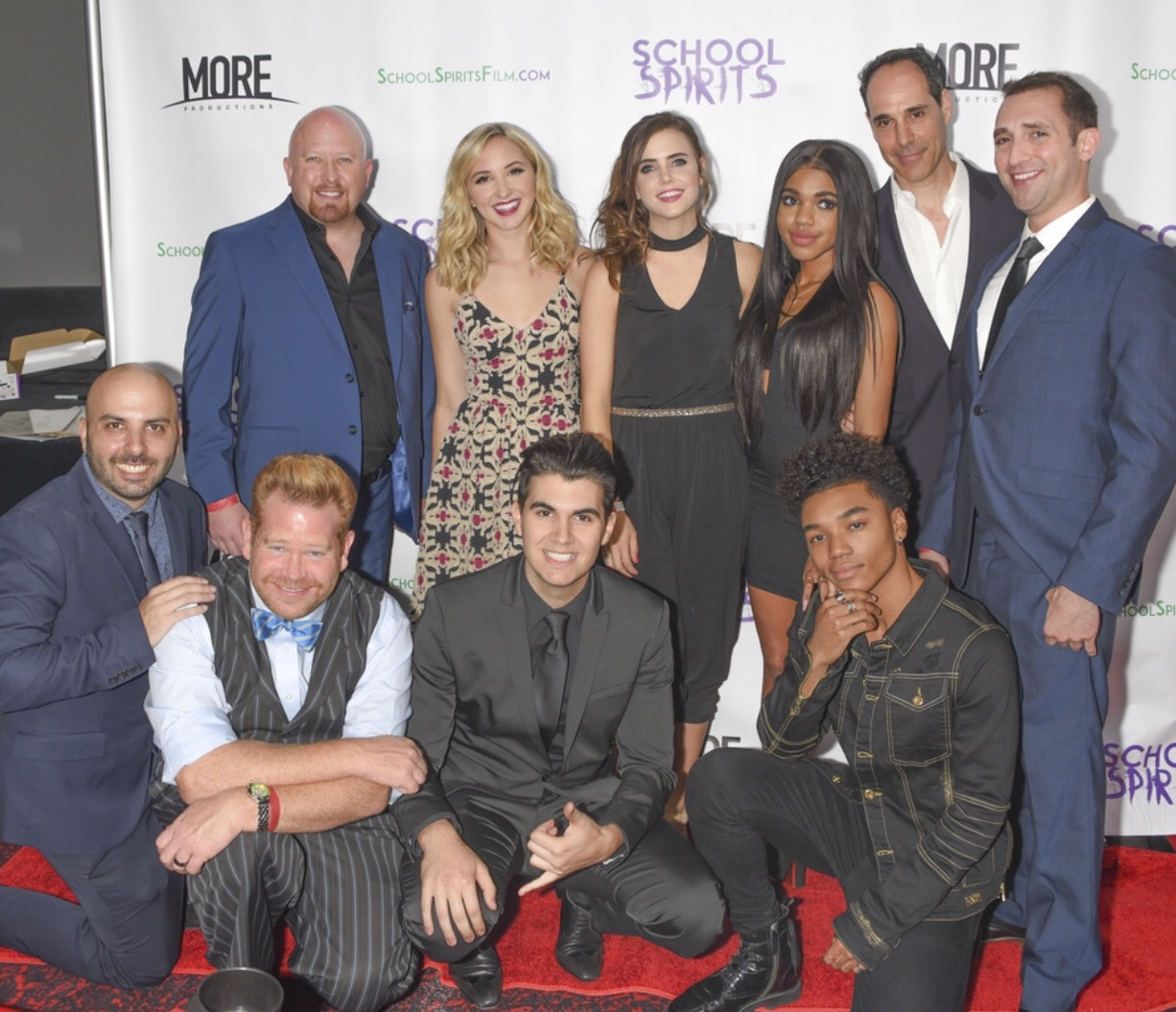 "Teen Movie ""School Spirits"" released on digital platforms by a huge turn out of celebrities"