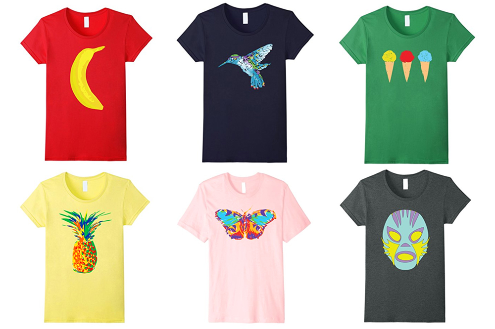 Tees Tropical tshirts