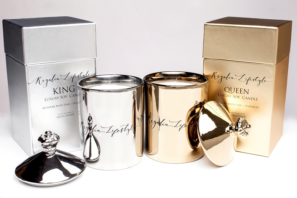 King and Queen : Luxury Scented Soy Candles by Regalia Lifestyle