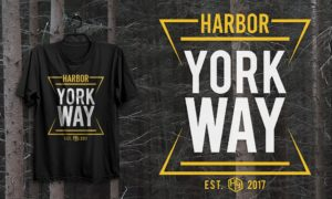 Premium quality T-Shirts by Harbor Yorkway