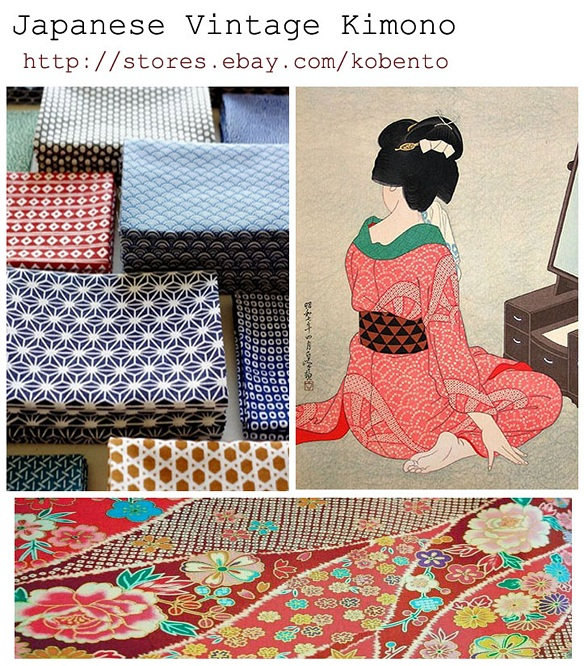 Japanese traditional kimonos on SALE !