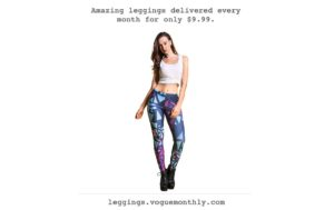 Getting variety of leggings has never been so easy !
