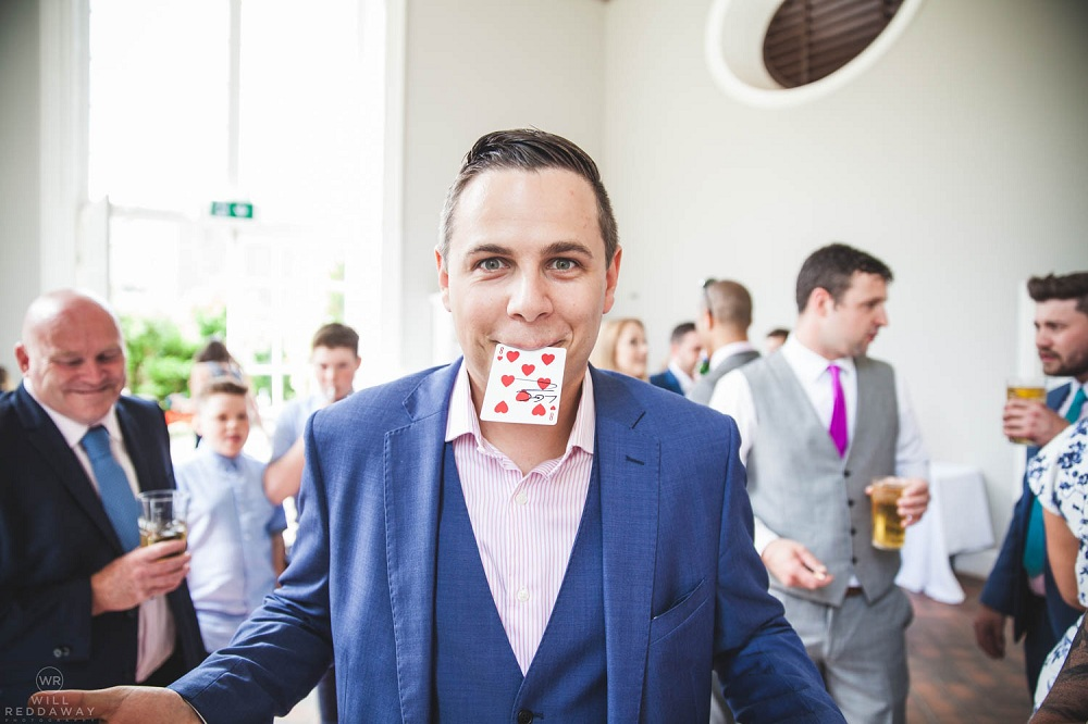 Lewis Belcher Magician adds a magic touch to your wedding and parties
