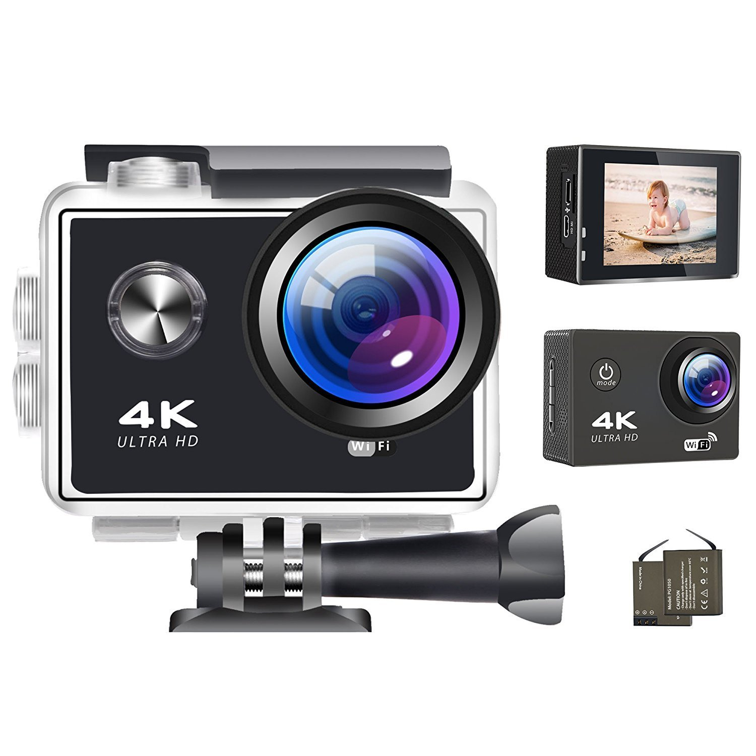 Get the Best Shot with this Waterproof 16MP 4K Wifi Digital Camera