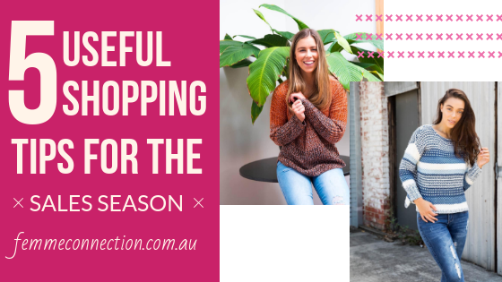 5 Useful Shopping tips for the sales season