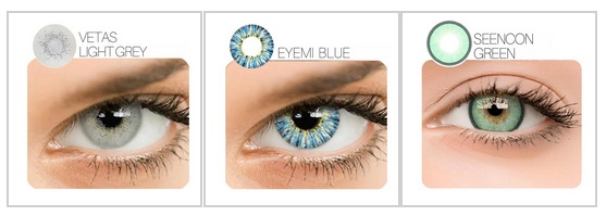 High quality Colour Contact Lenses on discount at StunningLens