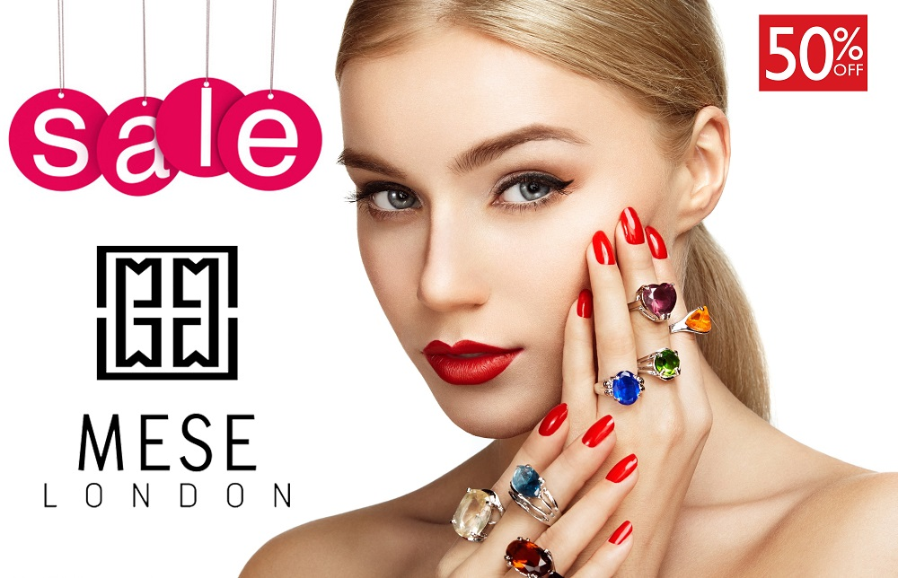 MESE London offers fashion jewellery on big discount