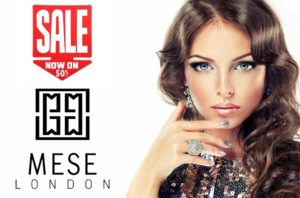 Designer jewelry on upto 50% discount on MESE London