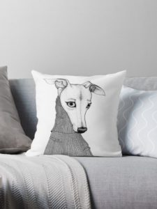 You will love these Iggy printed throw pillows