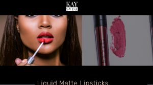 Get A Perfect Bold Matte Look with Kay Sada Cosmetics Lipsticks
