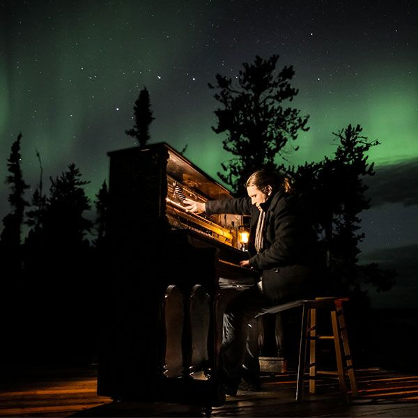 Résonances Boréales – A dialogue between one piano and the northern lights