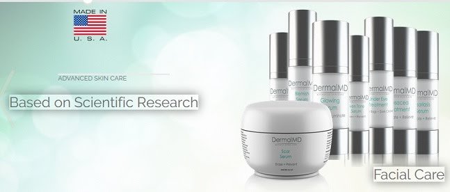All-natural beauty serums and treatments by DermalMD