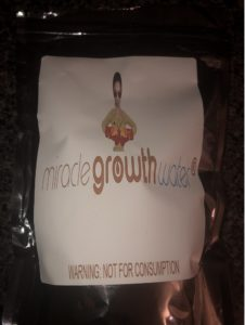 Natural Hair Growth by 'Miracle Growth Water'