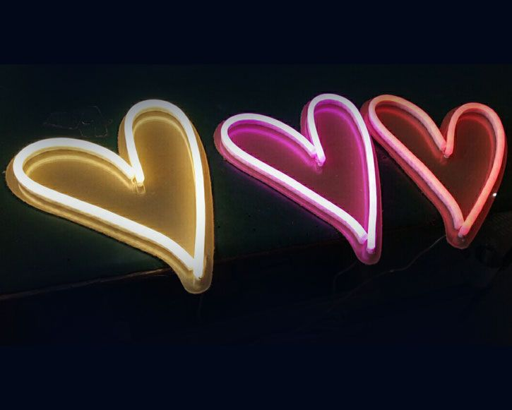 LED Neon signs are bringing colors to our lives!