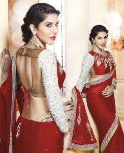 choosing matching blouse for saree