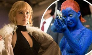 jennifer lawrence blue getup