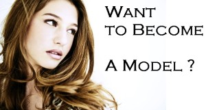 want to become a model