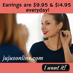 jujus online earring ad