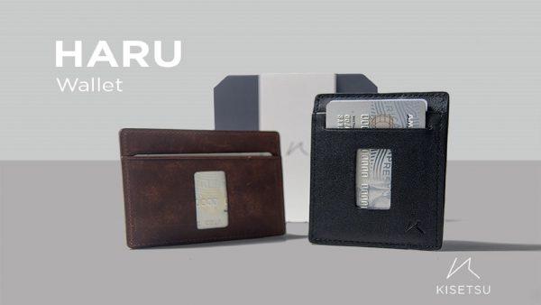 haru slim wallet